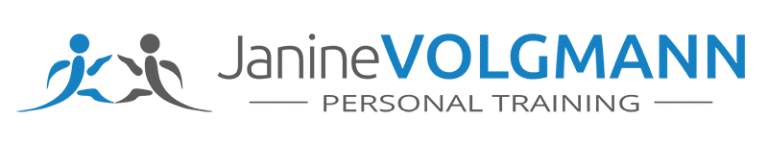 Es handelt sich hierbei um das Logo von Janine Volgmann-Personaltraining